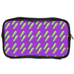 Ice Freeze Purple Pattern Toiletries Bag (one Side) by snowwhitegirl