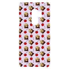 Doll And Cherries Pattern Samsung S9 Plus Black Uv Print Case