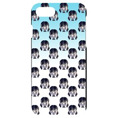 Forest Girl Gradient Blue Iphone 7/8 Black Uv Print Case
