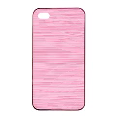 Pink Knitting Pattern Iphone 4/4s Seamless Case (black) by goljakoff