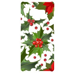Red Berries Pattern Samsung Note 9 Black Uv Print Case  by goljakoff