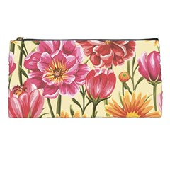 Colorful Flowers Pencil Cases by goljakoff