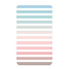 Horizontal Pinstripes In Soft Colors Memory Card Reader (rectangular) by shawlin