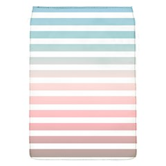 Horizontal Pinstripes In Soft Colors Removable Flap Cover (s) by shawlin