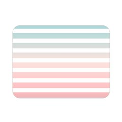 Horizontal Pinstripes In Soft Colors Double Sided Flano Blanket (mini)  by shawlin