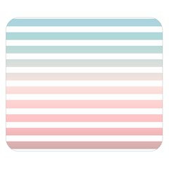 Horizontal Pinstripes In Soft Colors Double Sided Flano Blanket (small)  by shawlin