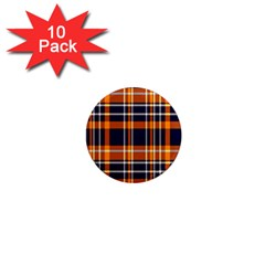 Tartan Pattern 1  Mini Magnet (10 Pack)