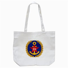 Seal Of The Yugoslav Navy Tote Bag (white)