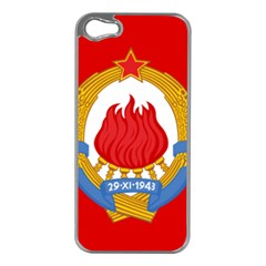 Naval Jack Of Yugoslavia, 1963 1993 Iphone 5 Case (silver)