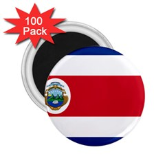 National Flag Of Costa Rica 2 25  Magnets (100 Pack)