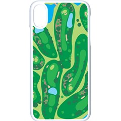 Golf Course Par Golf Course Green Copy Iphone Xs Seamless Case (white) by Nexatart