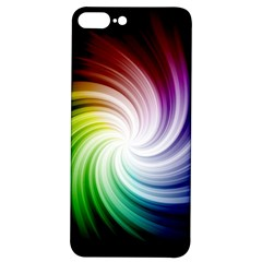 Rainbow Swirl Twirl Iphone 7/8 Plus Soft Bumper Uv Case