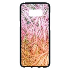 Fineleaf Japanese Maple Highlights Samsung Galaxy S8 Plus Black Seamless Case by Riverwoman