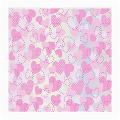 Valentine Background Hearts Bokeh Medium Glasses Cloth by Nexatart