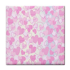 Valentine Background Hearts Bokeh Face Towel