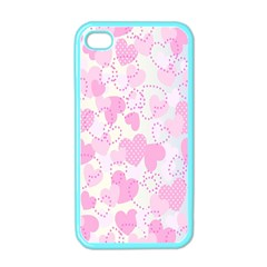 Valentine Background Hearts Bokeh Iphone 4 Case (color)