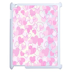 Valentine Background Hearts Bokeh Apple Ipad 2 Case (white)