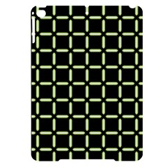 Pattern Digital Seamless Texture Apple Ipad Pro 9 7   Black Uv Print Case