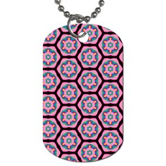 Background Pattern Tile Dog Tag (two Sides)