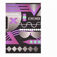 Background Abstract Geometric Large Garden Flag (two Sides)