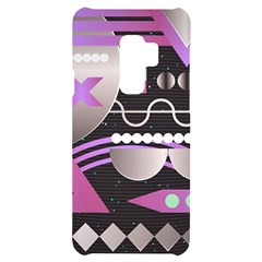 Background Abstract Geometric Samsung S9 Plus Black Uv Print Case