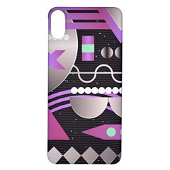 Background Abstract Geometric Iphone X/xs Soft Bumper Uv Case