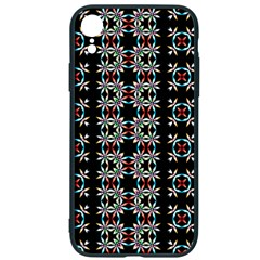 Pattern Black Background Texture Iphone Xr Soft Bumper Uv Case