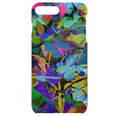Flowers Abstract Branches Iphone 7/8 Plus Black Uv Print Case