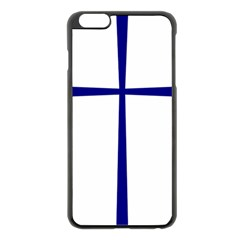 Byzantine Cross Iphone 6 Plus/6s Plus Black Enamel Case by abbeyz71