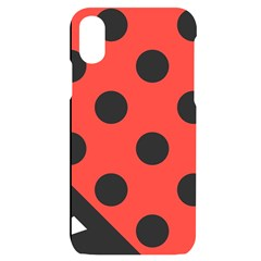 Bug Cubism Flat Insect Pattern Iphone X/xs Black Uv Print Case