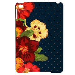 All Good Things   Floral Pattern Apple Ipad Mini 4 Black Uv Print Case by WensdaiAddamns