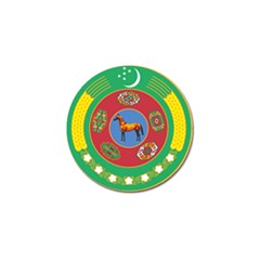 Turkmenistan National Emblem, 2000-2003 Golf Ball Marker (4 Pack) by abbeyz71