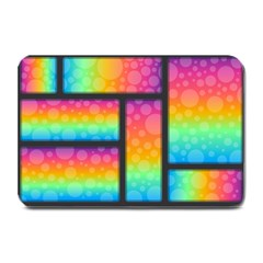 Background Colorful Abstract Plate Mats