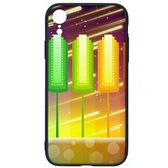 Abstract Landscape Background Iphone Xr Soft Bumper Uv Case