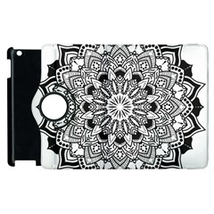 Mandala Spiritual Texture Apple Ipad 3/4 Flip 360 Case