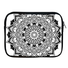 Mandala Spiritual Texture Apple Ipad 2/3/4 Zipper Cases