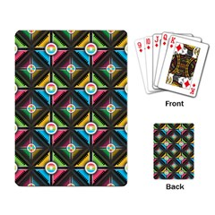 Seamless Pattern Background Abstract Playing Cards Single Design (rectangle)