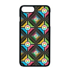 Seamless Pattern Background Abstract Iphone 8 Plus Seamless Case (black)