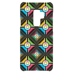 Seamless Pattern Background Abstract Samsung S9 Plus Black Uv Print Case