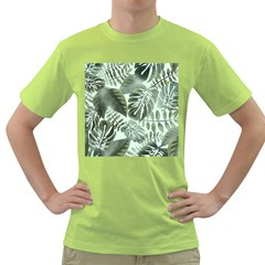 Medellin Leaves Tropical Jungle Green T Shirt by Pakrebo