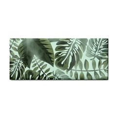 Medellin Leaves Tropical Jungle Hand Towel by Pakrebo