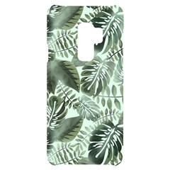 Medellin Leaves Tropical Jungle Samsung S9 Plus Black Uv Print Case