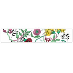 Flowers Garden Tropical Plant Large Flano Scarf