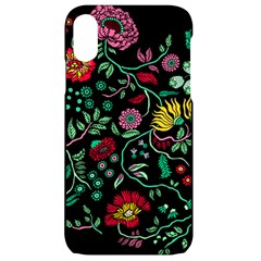 Flowers Garden Tropical Plant Iphone Xr Black Uv Print Case