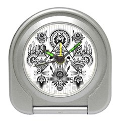 Ancient Parade Ancient Civilization Travel Alarm Clock