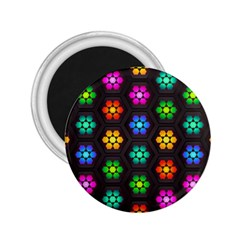 Pattern Background Colorful Design 2 25  Magnets