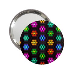 Pattern Background Colorful Design 2 25  Handbag Mirrors