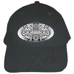 Forest Patrol Tribal Abstract Black Cap
