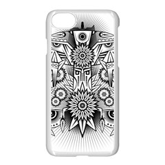 Forest Patrol Tribal Abstract Iphone 8 Seamless Case (white)