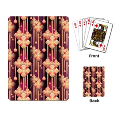 Illustrations Seamless Pattern Playing Cards Single Design (Rectangle)